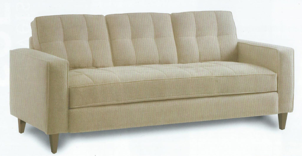 Tufted Back and Seat Sofa