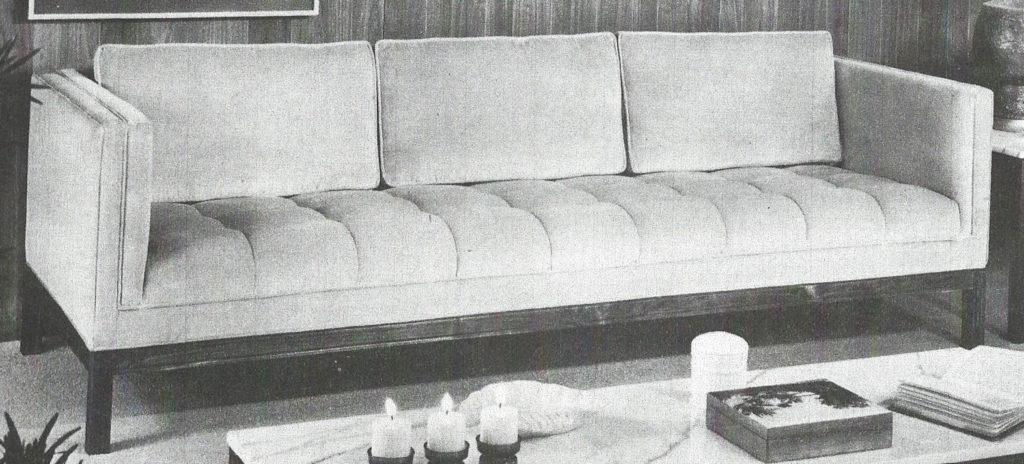 Tufted Seat Sofa