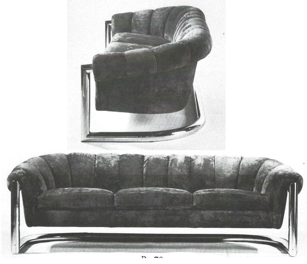 Round Back Sofa